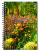 The Desert Abloom Spiral Notebook