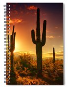 The Desert Awakens  Spiral Notebook