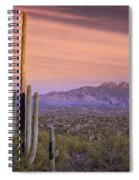 The Desert Beckons  Spiral Notebook
