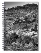 The Desert Sparkles Spiral Notebook