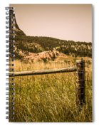 The Devils Tower Spiral Notebook