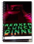 The Diner Spiral Notebook