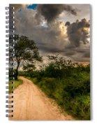 The Dirt Road Spiral Notebook