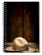 The Dirty Tan Hat Spiral Notebook