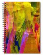 The Disturbance Of Memory Spiral Notebook