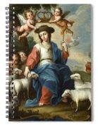 The Divine Shepherdess Spiral Notebook