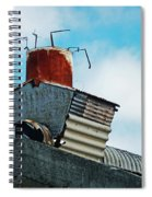 The Diy Chimney Spiral Notebook