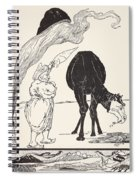 The Djinn In Charge Of All Deserts Guiding The Magic With His Magic Fan Spiral Notebook