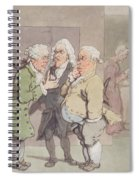 The Doctors Consultation, 1815-1820 Pen And Ink And Wc Over Graphite On Paper Spiral Notebook