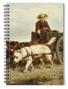 The Dog Cart Spiral Notebook