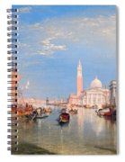 The Dogana And San Giorgio Maggiore Spiral Notebook