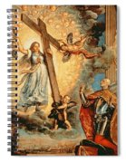 The Doge Grimani Kneeling Before Faith Spiral Notebook