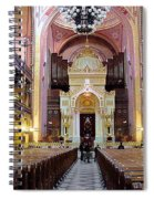 The Dohany Street Synagogue Budapest Spiral Notebook