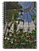 The Dome 002 Buffalo Botanical Gardens Series Spiral Notebook