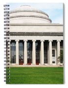 The Dome At Mit Spiral Notebook