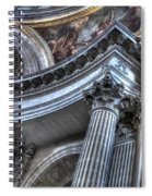 The Dome Of The Invalides Paris Spiral Notebook