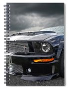 The Dominator - Cervini Mustang Spiral Notebook