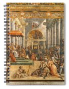 The Donation Of Rome. Spiral Notebook