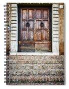 The Door At Number 5 Spiral Notebook