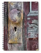 The Door Knob Spiral Notebook