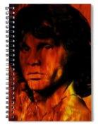 The Doors Light My Fire Spiral Notebook