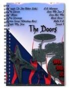 The Doors Spiral Notebook