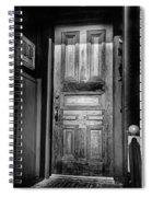 The Doorway Spiral Notebook