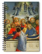 The Dormition Of The Virgin Spiral Notebook