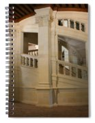 The Double-helix Staircase Chateau Chambord - France Spiral Notebook