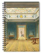 The Double Lobby Or Gallery Spiral Notebook