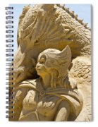 The Dragon And The Goddess Spiral Notebook