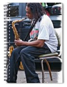 The Dreaded Sax Spiral Notebook