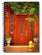 The Dream Door Spiral Notebook