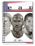 the Dream Team Spiral Notebook