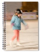 The Dreams Of Little Skaters  Spiral Notebook