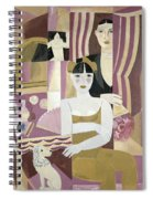 The Dressing Room Spiral Notebook