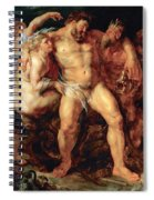The Drunken Hercules Spiral Notebook