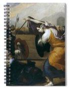 The Duel Of Isabella De Carazzi And Diambra De Pottinella Spiral Notebook
