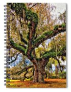 The Dueling Oak Painted Spiral Notebook