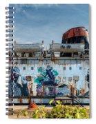 The Duke Of Graffiti Spiral Notebook