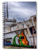 The Duke Of Lancaster Spiral Notebook