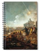 The Duke Of Wellington At La Haye Sainte. The Battle Of Waterloo Spiral Notebook