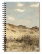 The Dunes Of Dunkirk Spiral Notebook