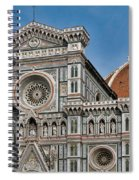 The Duomo And Baptistery Of St. John Spiral Notebook
