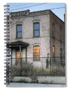 The Duquesne Building - Spokane Washington Spiral Notebook