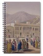 The Durbar-khaneh Of Shah Spiral Notebook