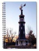 The Dwight Windmill Spiral Notebook