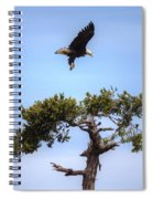 The Eagle Is Landing Spiral Notebook