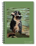 The Early Berner Catcheth Phone Spiral Notebook