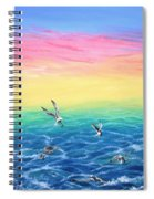 Sea To Sky Spiral Notebook